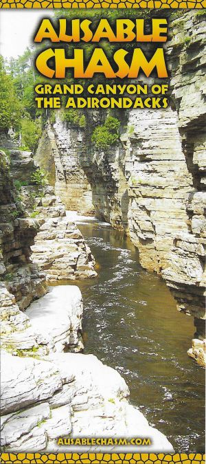 Ausable Chasm brochure thumbnail