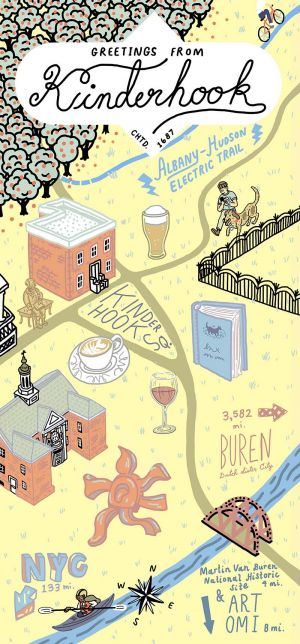 Kinderhook, Historic Village Bike and Walk Tour brochure thumbnail