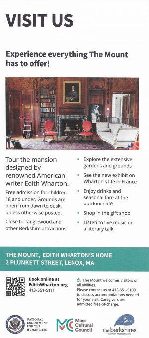 The Mount / Edith Wharton Estate brochure thumbnail