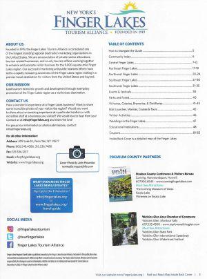 Finger Lakes Tourism Alliance brochure thumbnail