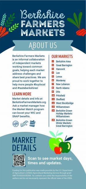 Berkshire Farmers Markets brochure thumbnail