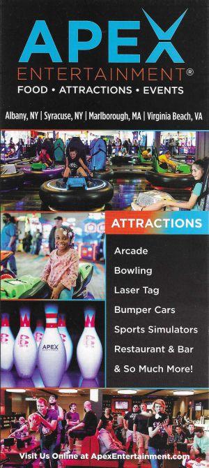 APEX Entertainment brochure thumbnail