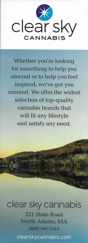 Clear Sky Cannabis brochure thumbnail