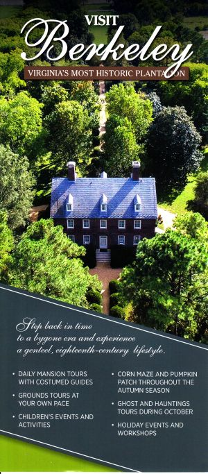 Berkeley Plantation brochure thumbnail