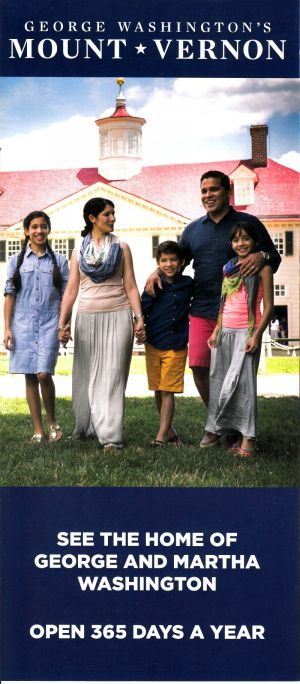 George Washington's Mount Vernon brochure thumbnail
