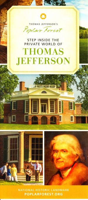 Thomas Jefferson's Poplar Forest brochure thumbnail