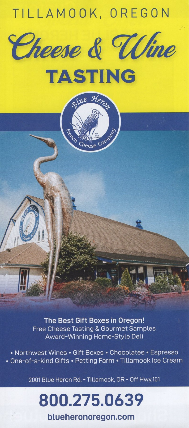 Visit the Blue Heron Cheese