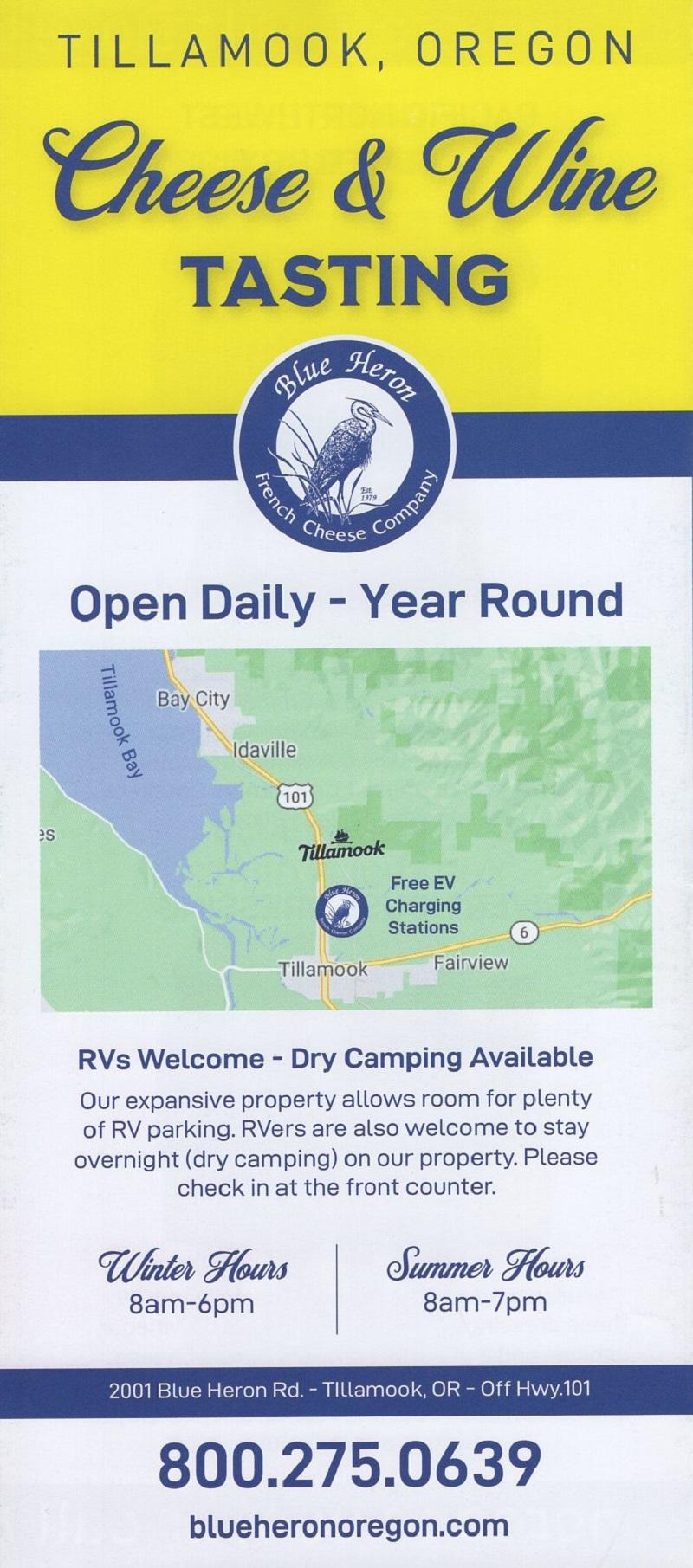 Visit the Blue Heron Cheese brochure thumbnail