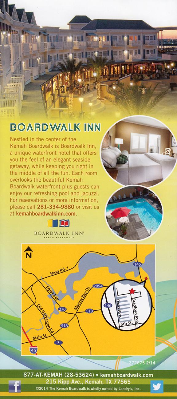 Kemah Boardwalk brochure thumbnail