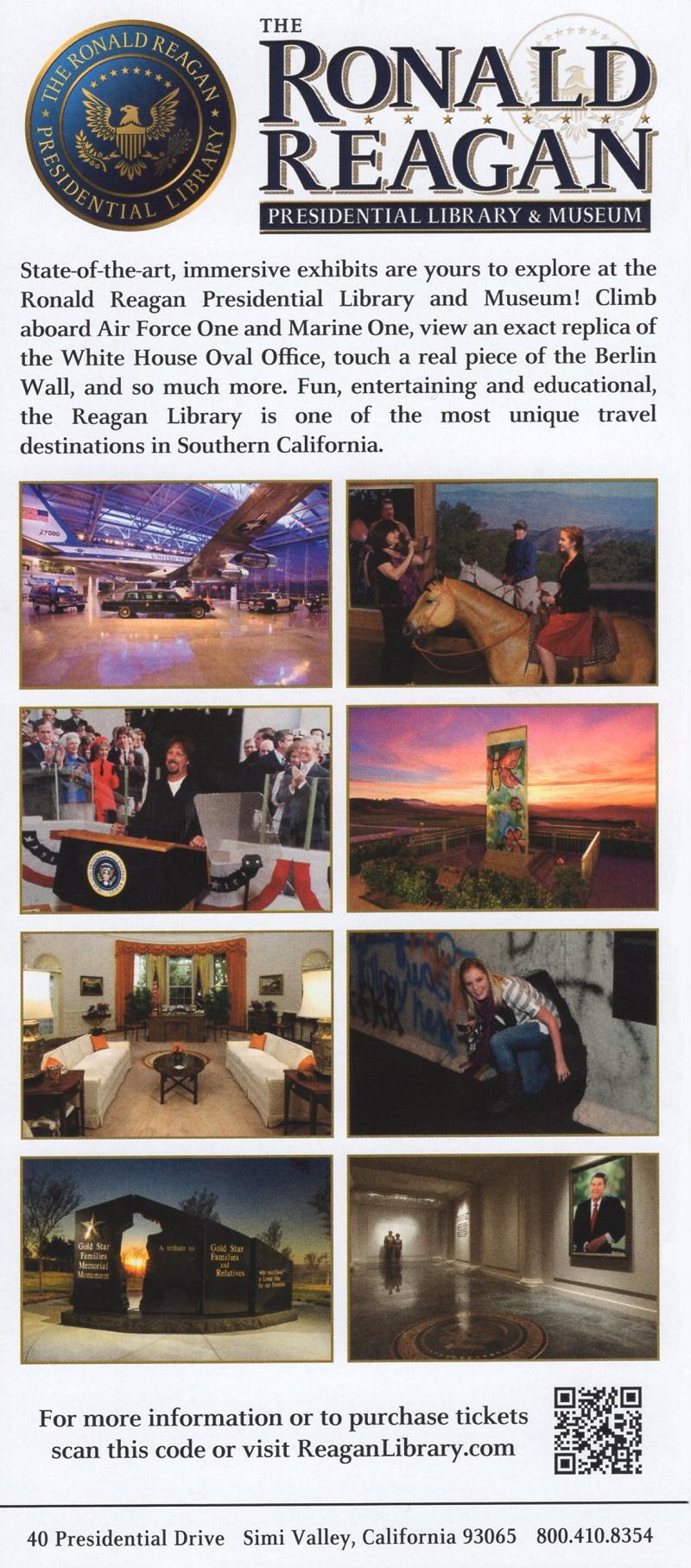 FBI at the Reagan Library brochure thumbnail