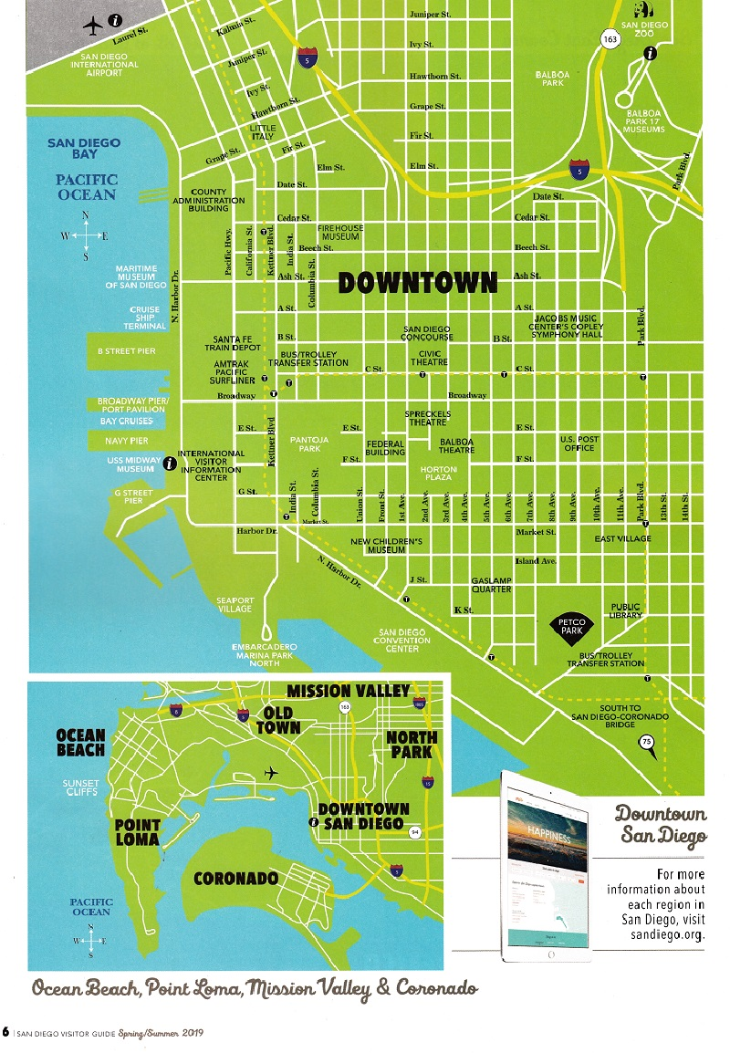 San Diego Official Visitors Guide brochure thumbnail
