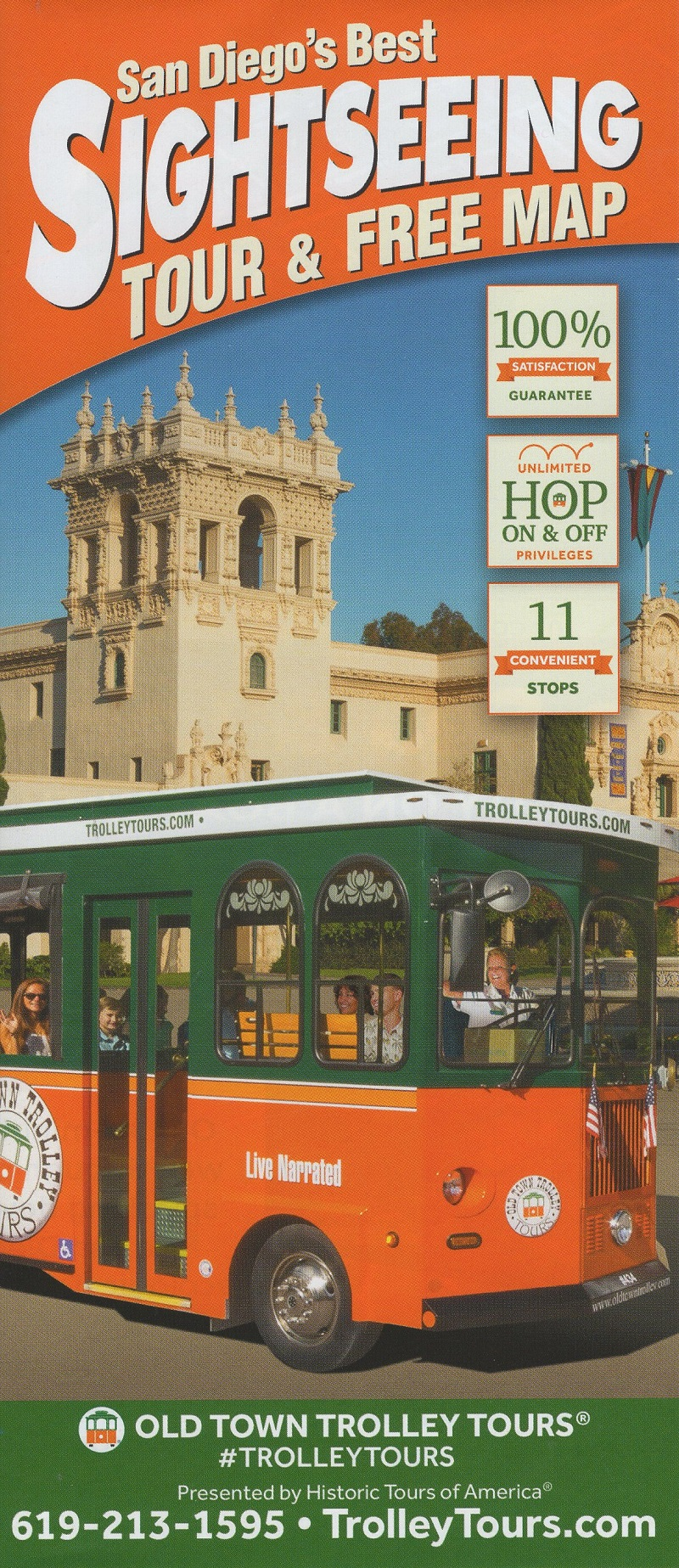 San Diego's Best Sightseeing Tour & Free Map