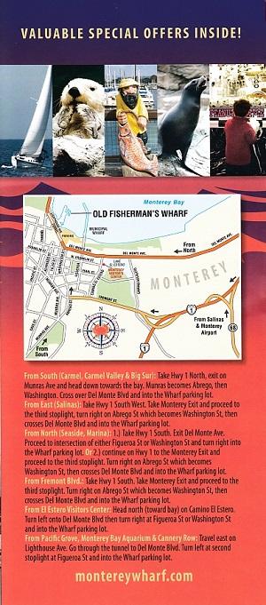 Fisherman's Wharf - Monterey brochure thumbnail