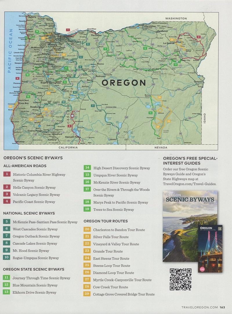 Oregon Visitor Guide brochure thumbnail