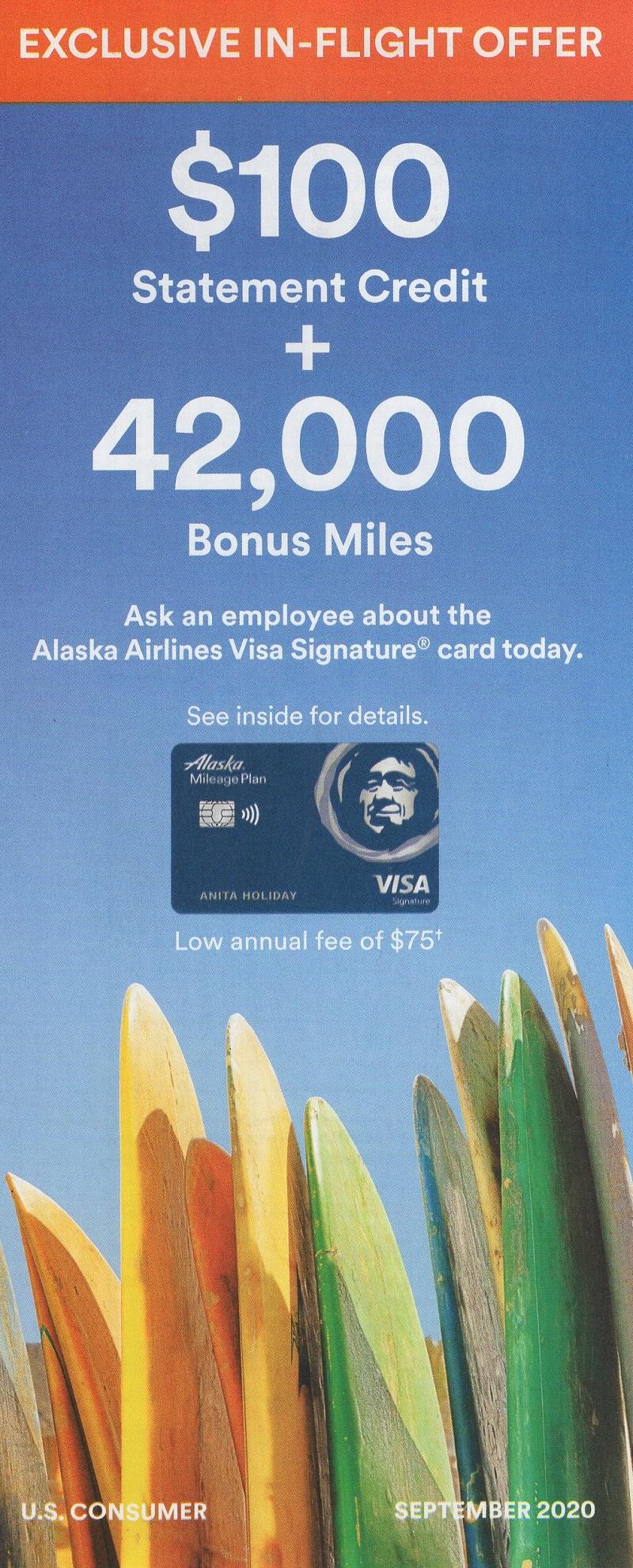 Alaska Airlines Affinity Cards