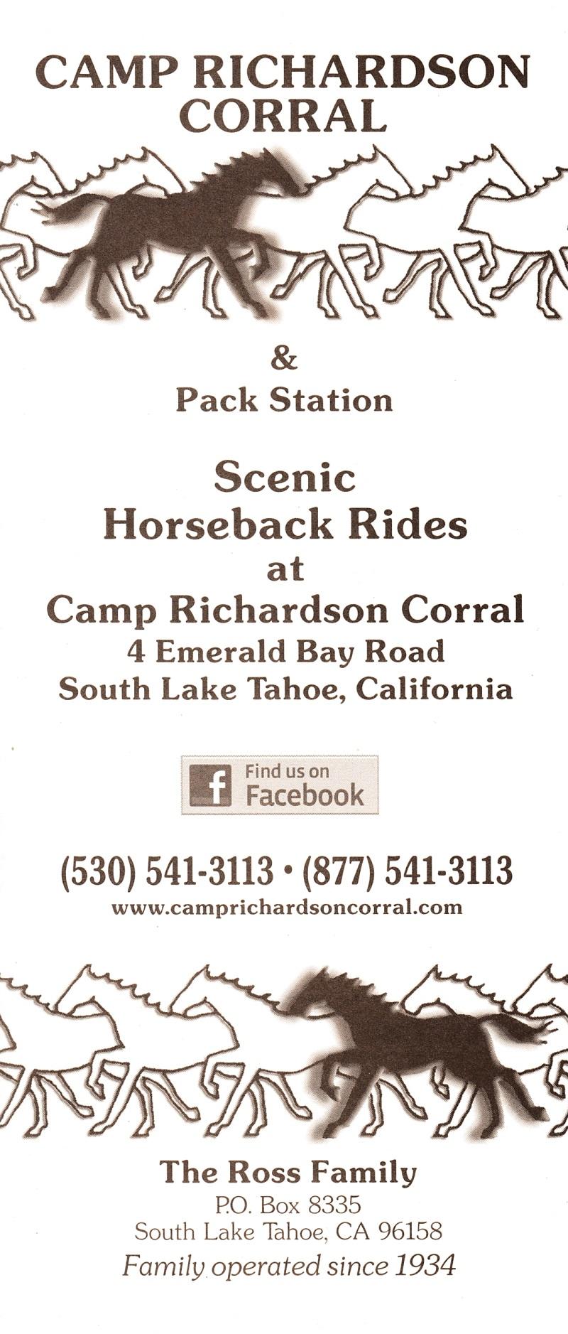 Camp Richardson Corral