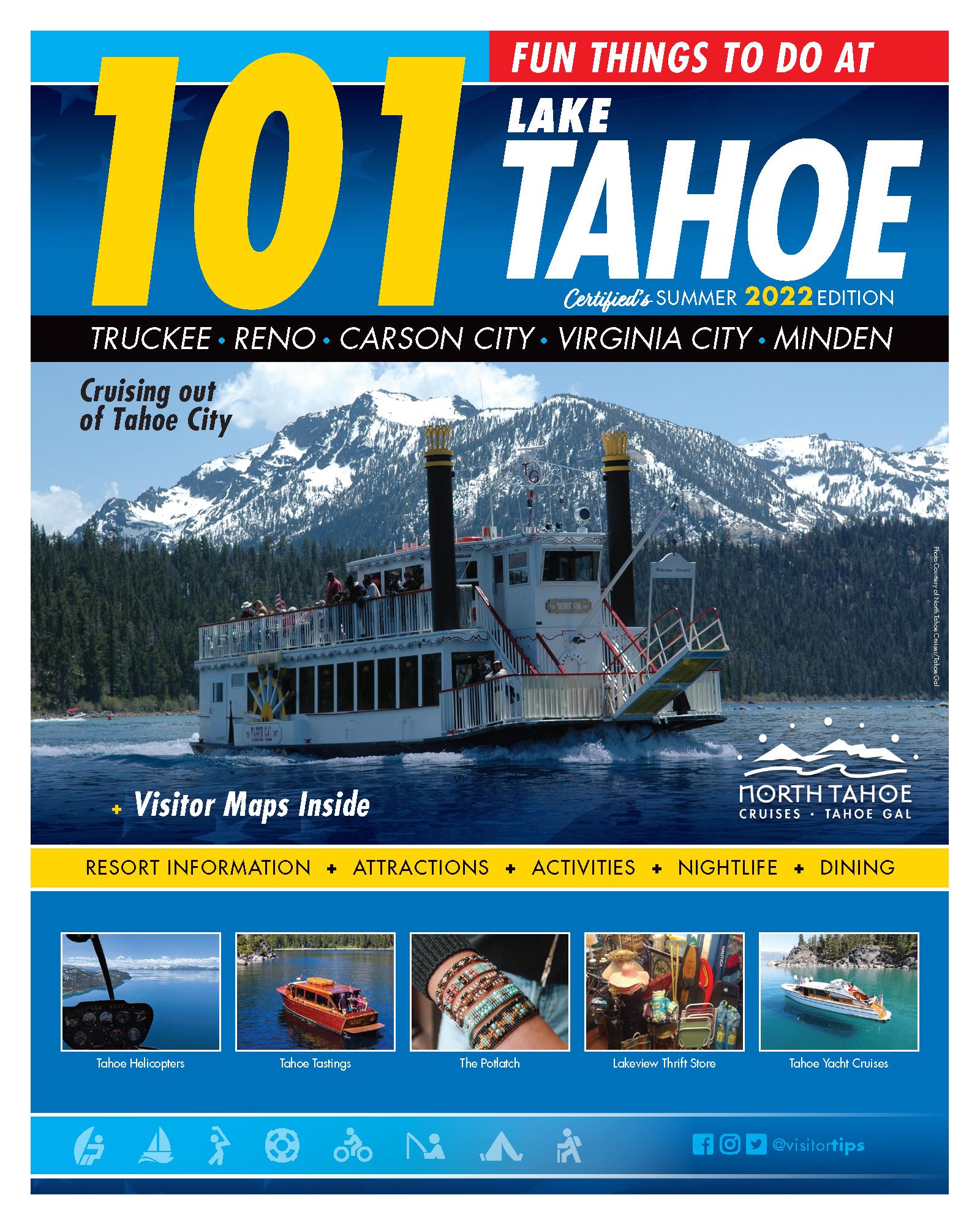 101 Fun Things To Do At Lake Tahoe