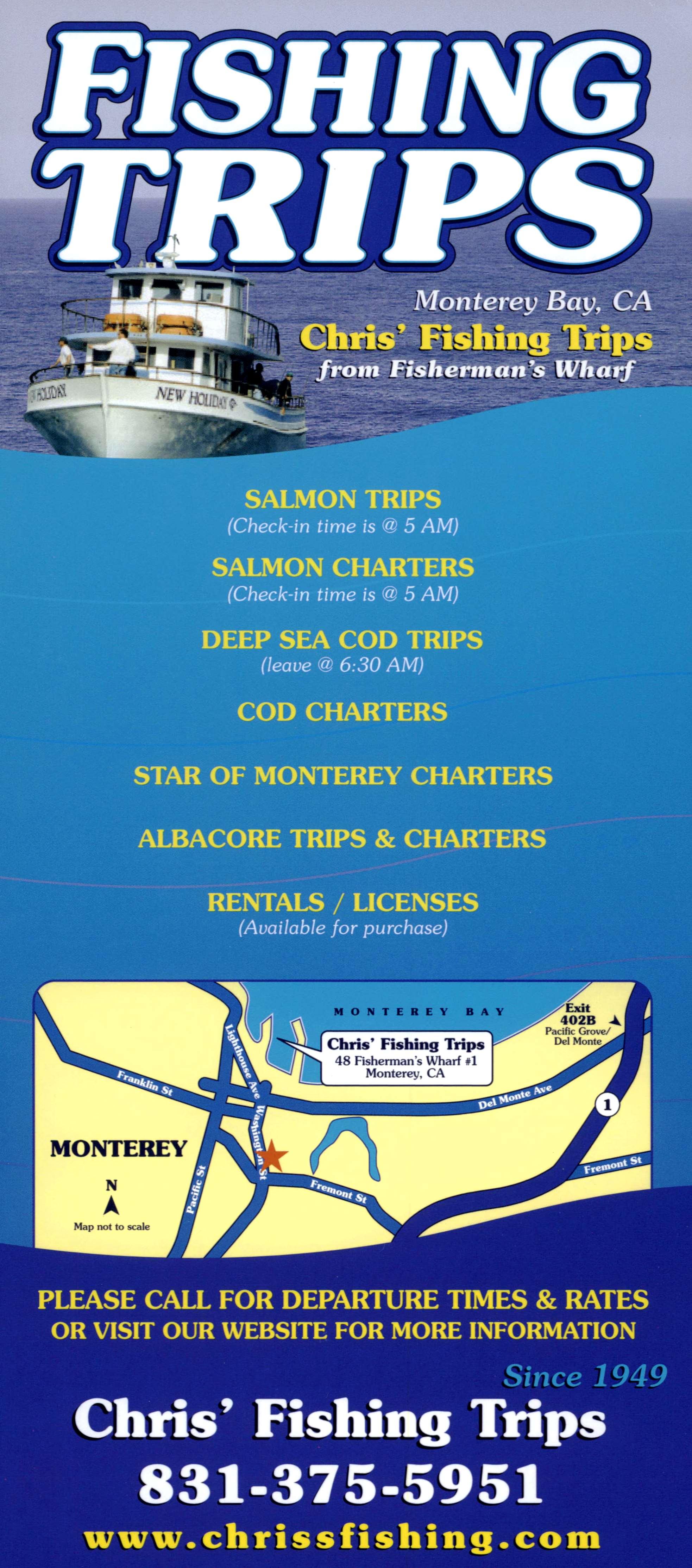 Chris' Fishing Trips brochure thumbnail