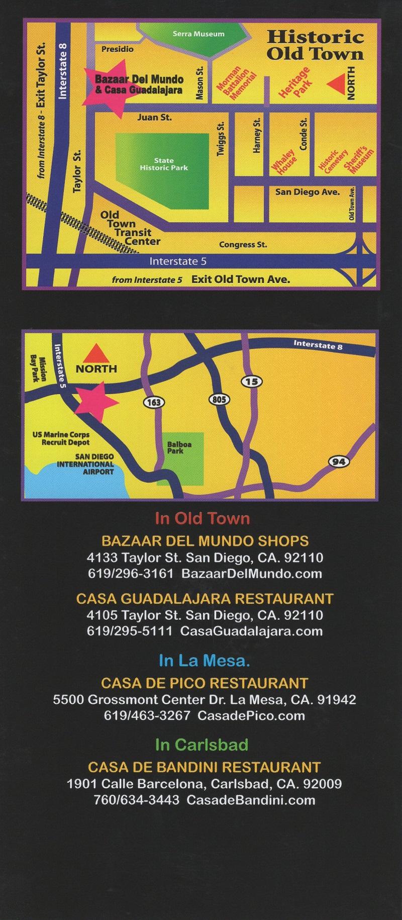 Bazaar Del Mundo/Casa Guadalajara brochure thumbnail