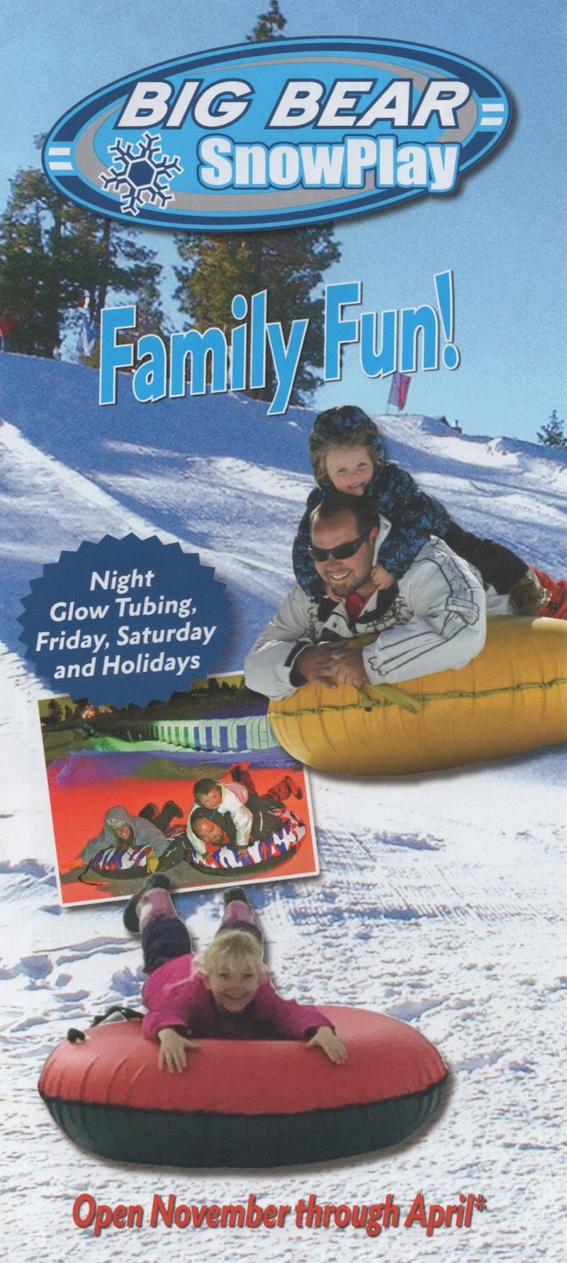 Big Bear Snowplay/Speedway