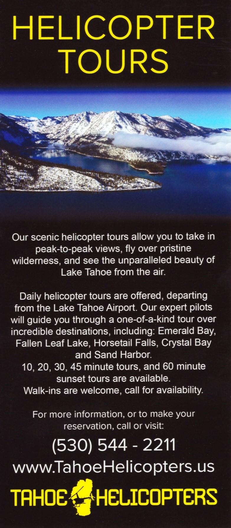 Tahoe Heli Tours LLC