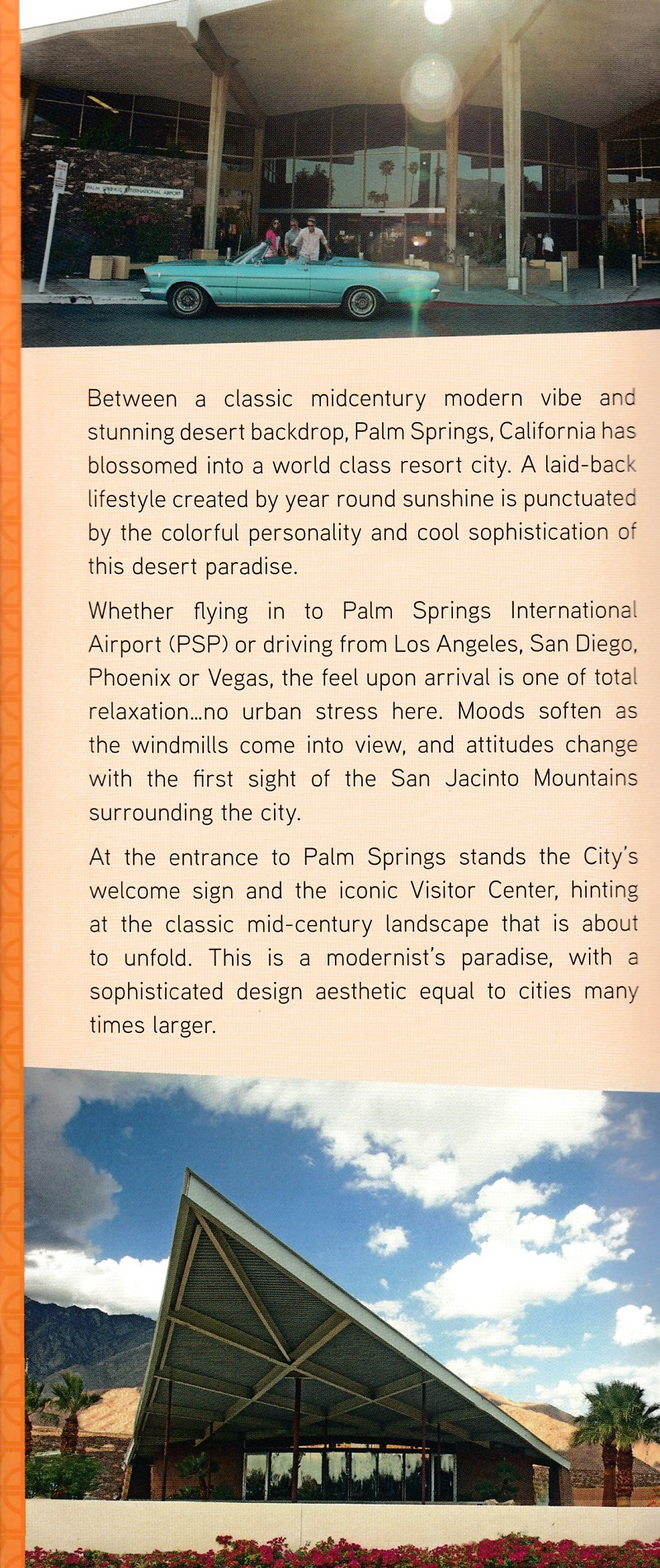 Palm Springs Official Visitors Guide brochure thumbnail