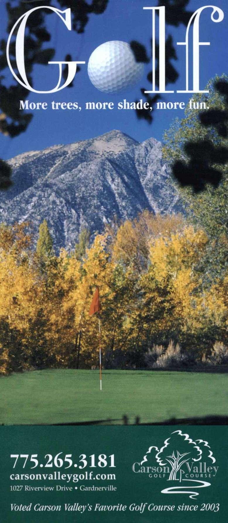 Carson Valley Golf
