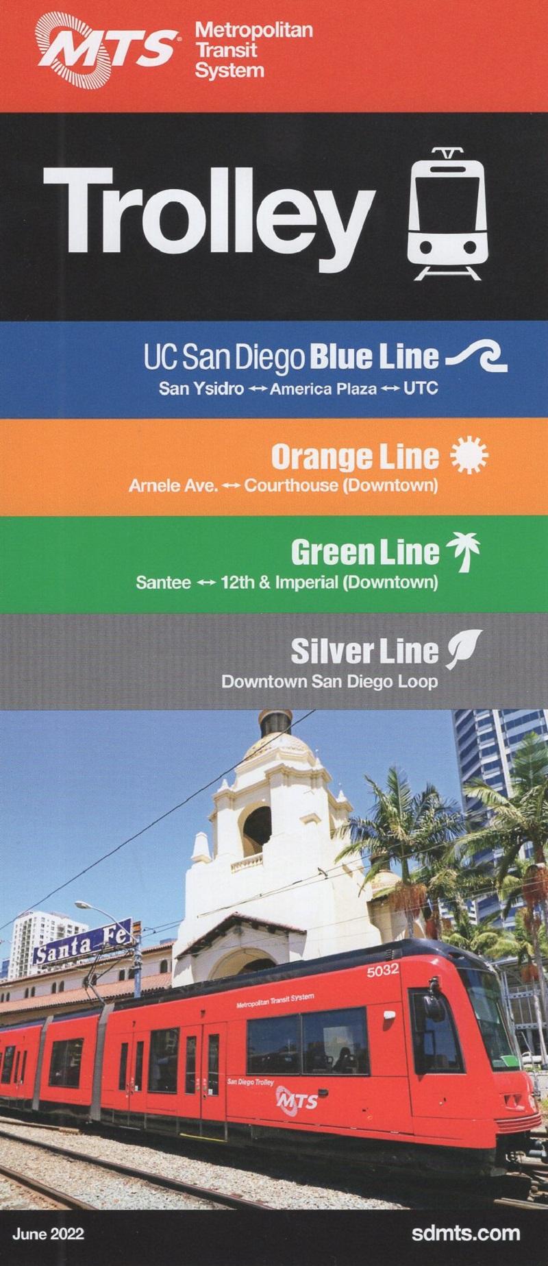 San Diego Metropolitan Transit - Trolley System