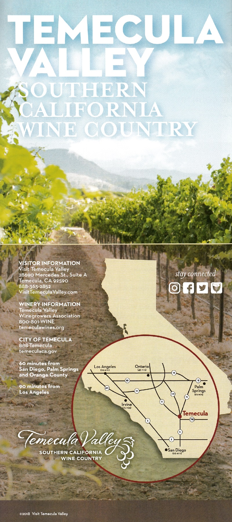 Visit Temecula Valley brochure thumbnail