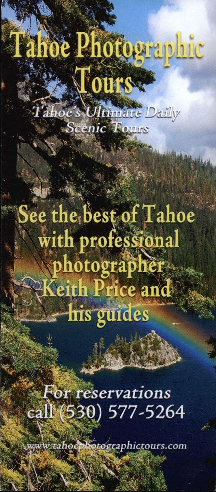 Tahoe Photographic Tours
