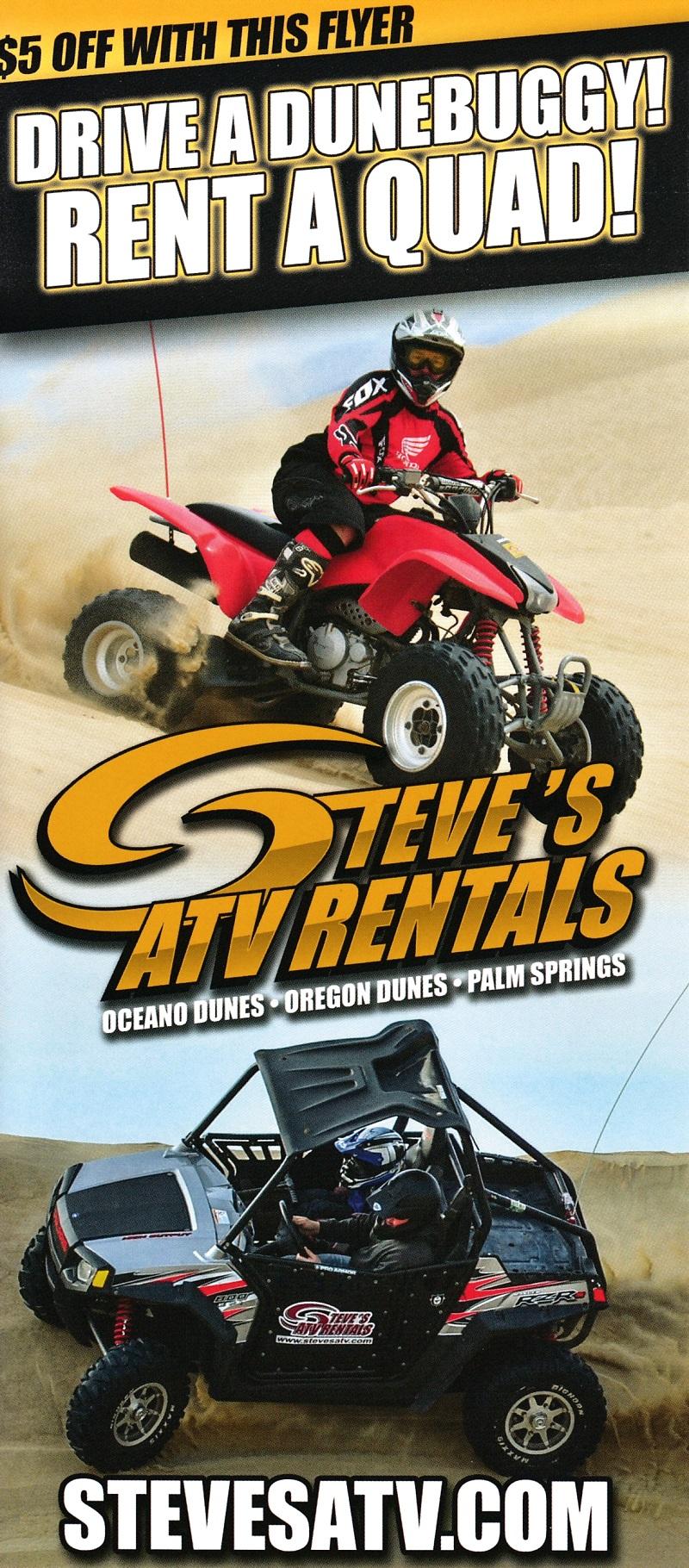 Steve's ATV - Oregon Coast