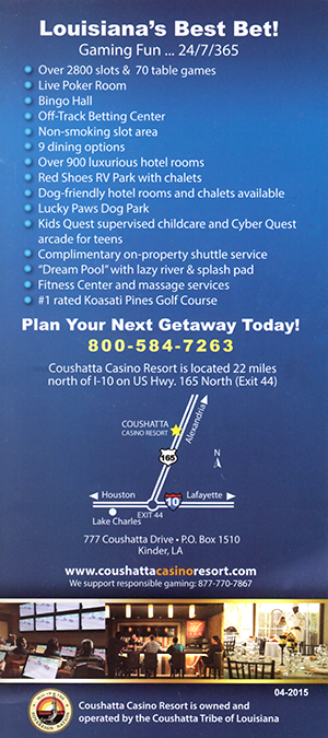 Choushatta Casino Resort brochure thumbnail