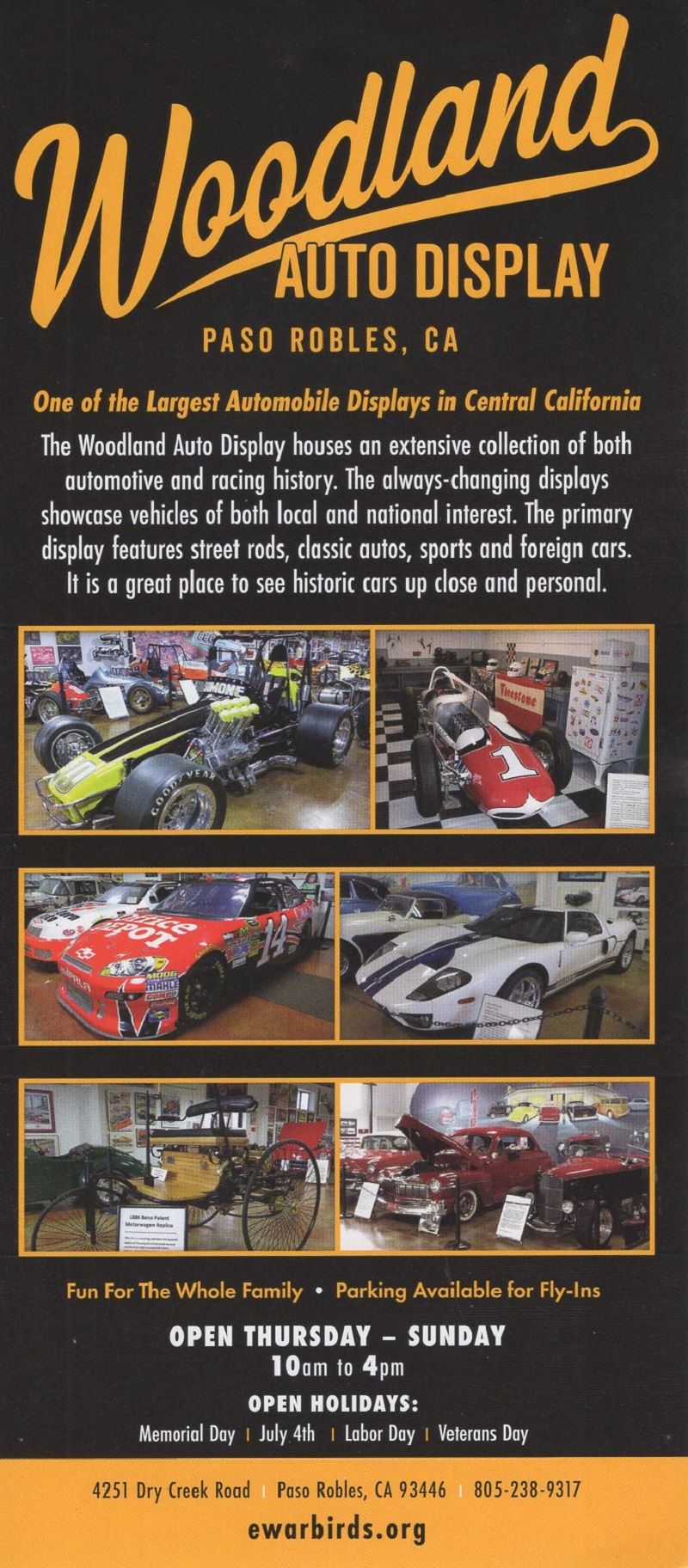 Estrella Warbird Museum brochure thumbnail