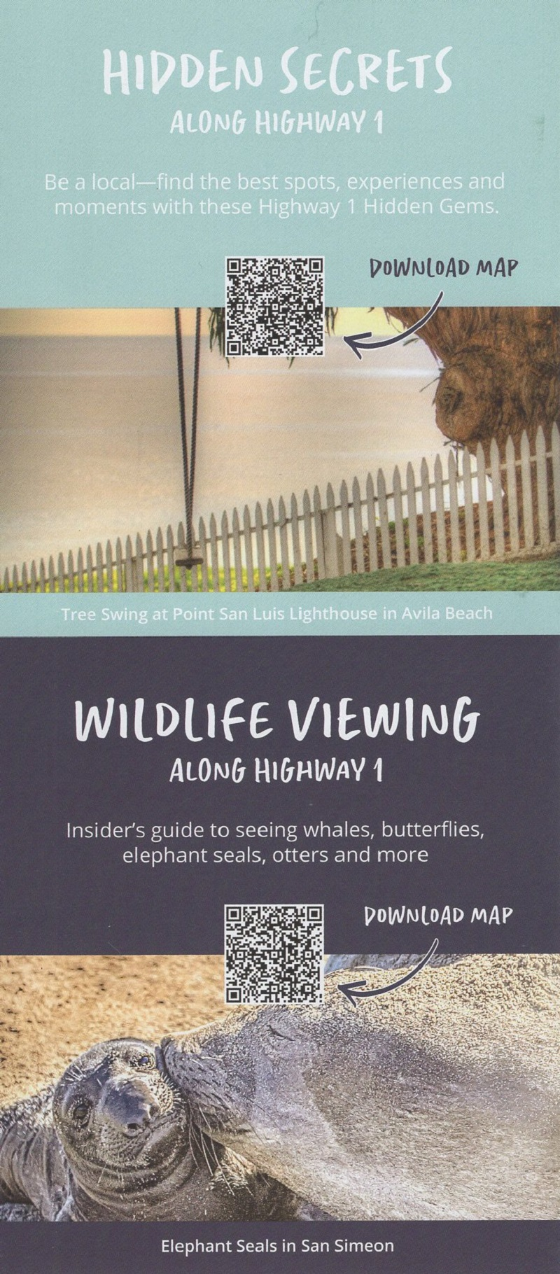 Highway One Discovery Route brochure thumbnail