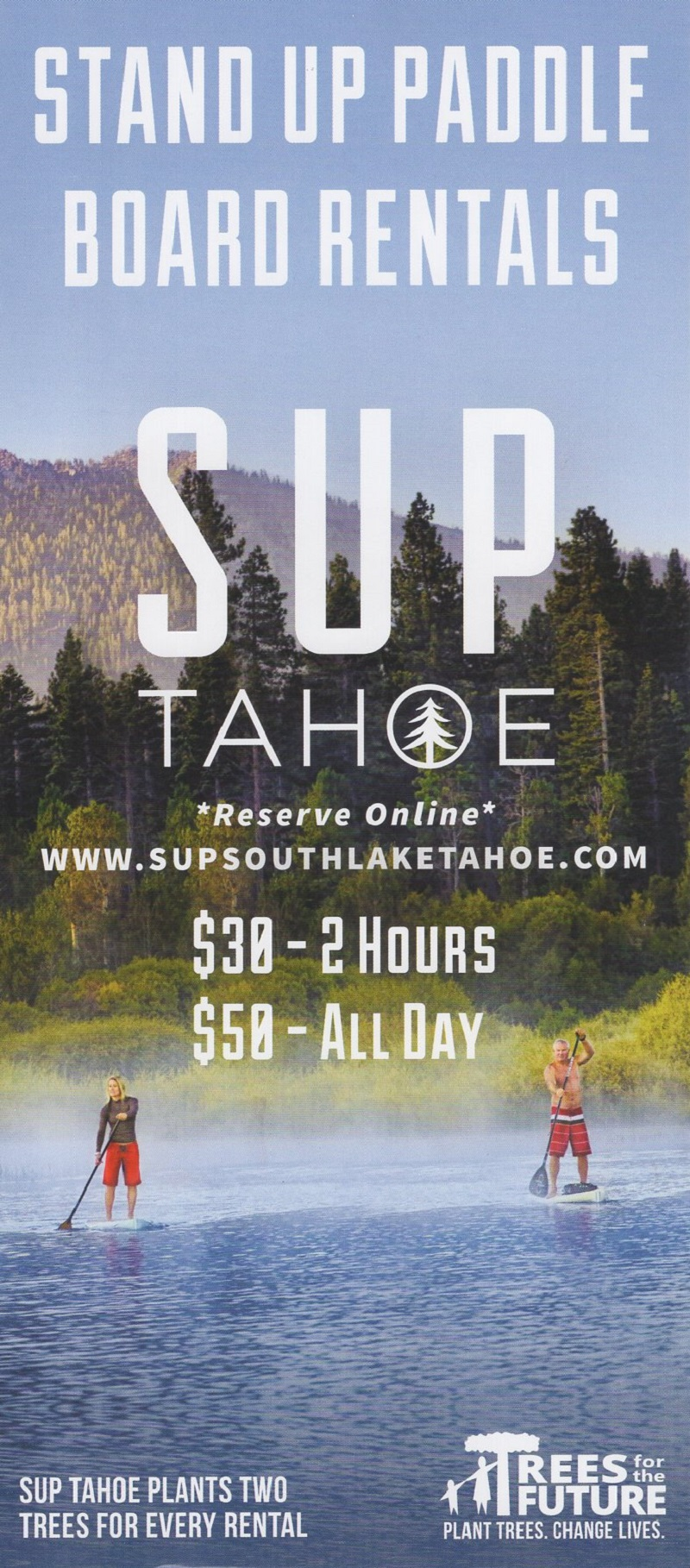 SUP- Tahoe