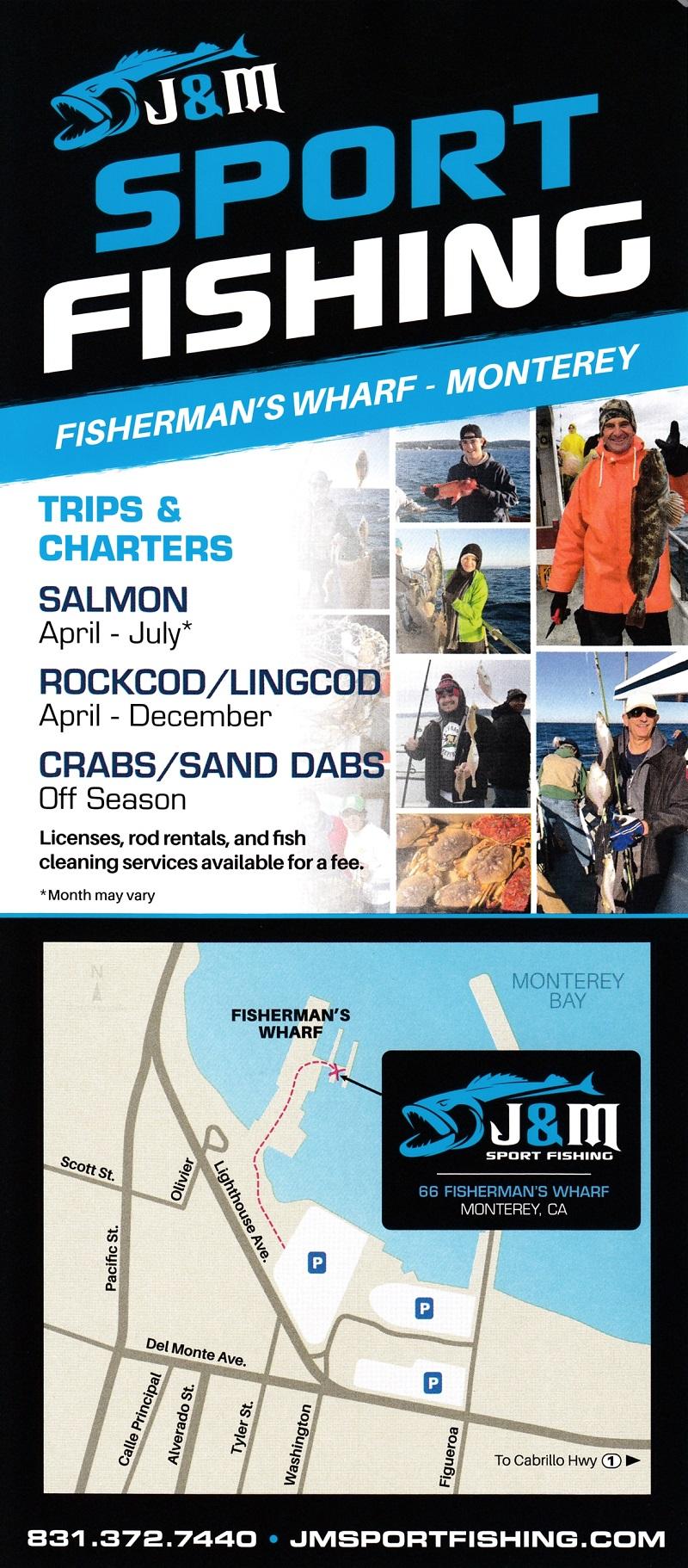 J and M Sportfishing brochure thumbnail