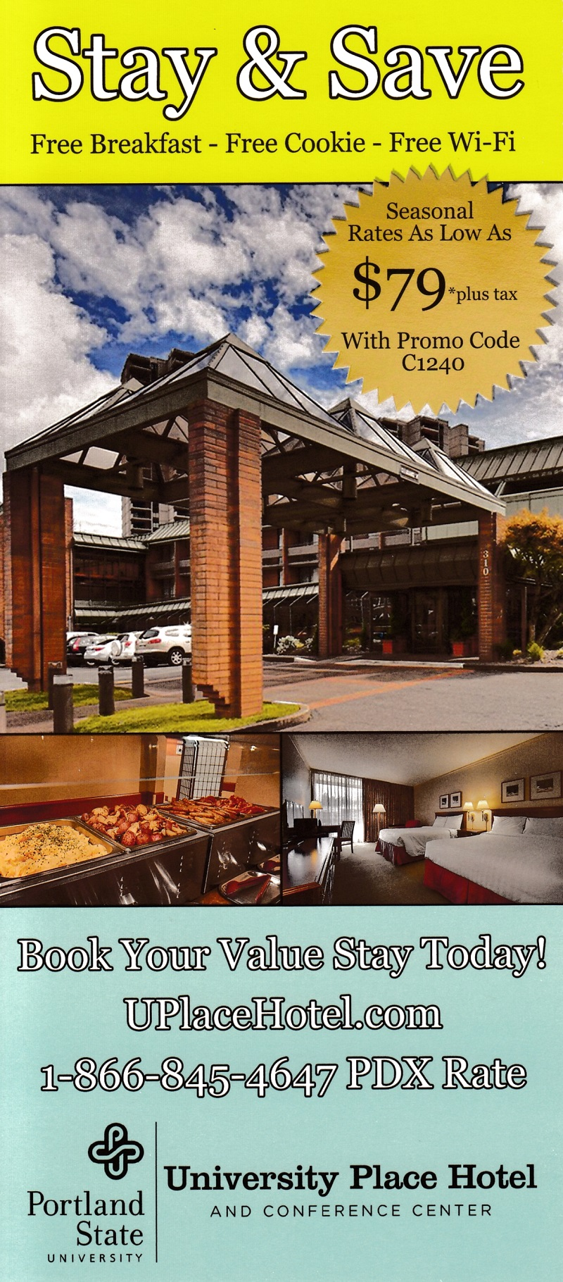 University Place Hotel brochure thumbnail