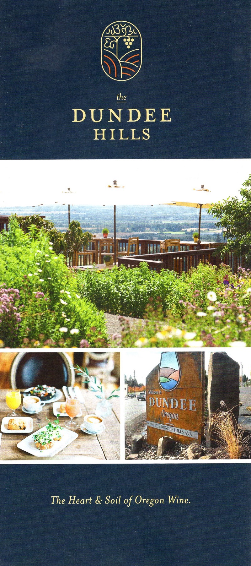Dundee Hill Wine Map
