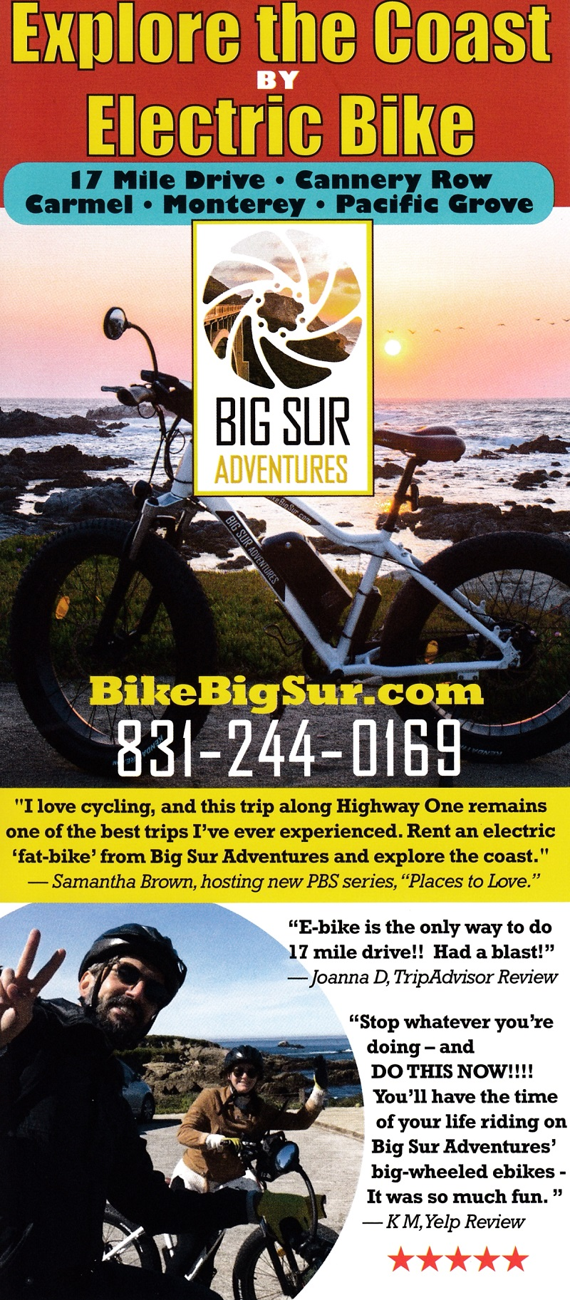 Big Sur Adv - Electric Bike