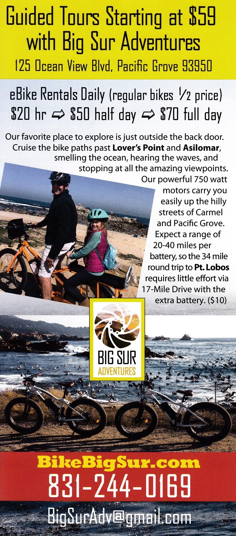 Big Sur Adv - Electric Bike brochure thumbnail