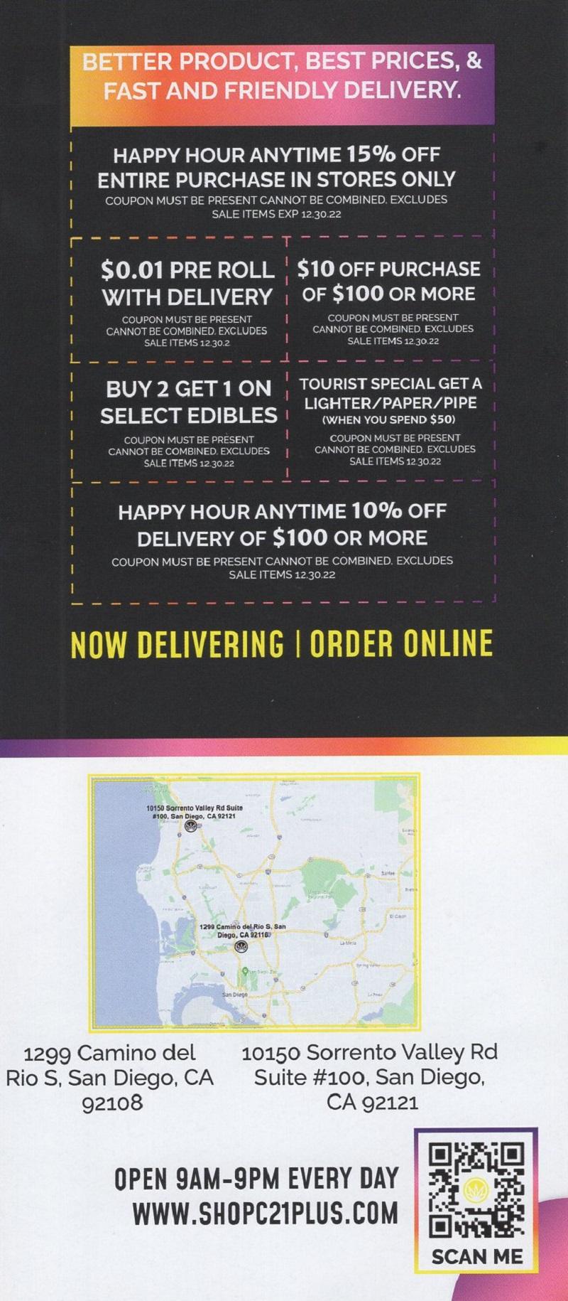 San Diego Rec Cannabis brochure thumbnail