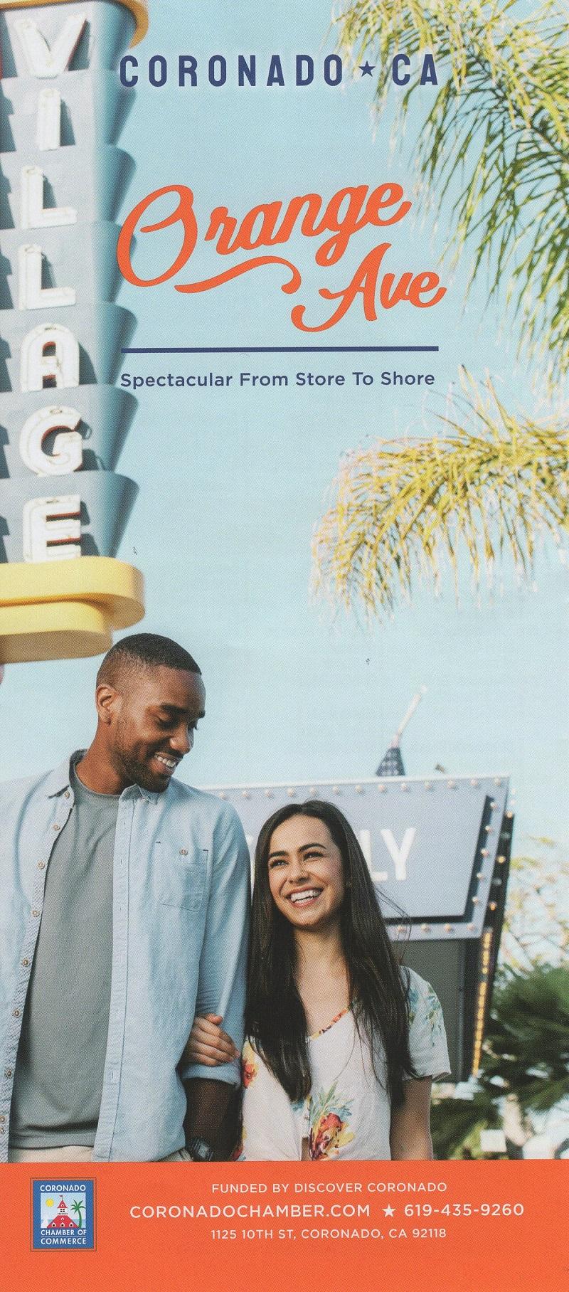 Coronado Visitor Map brochure thumbnail