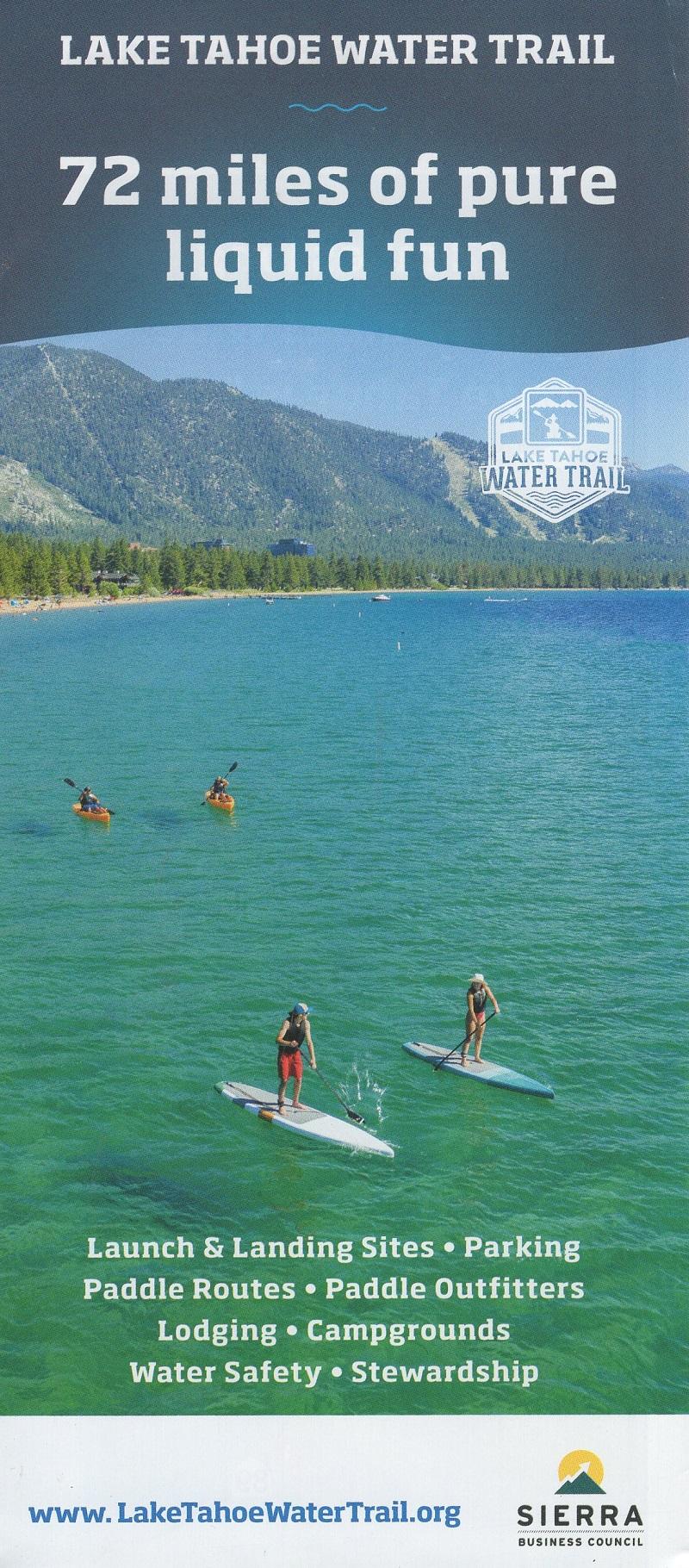 Lake Tahoe Water Trail