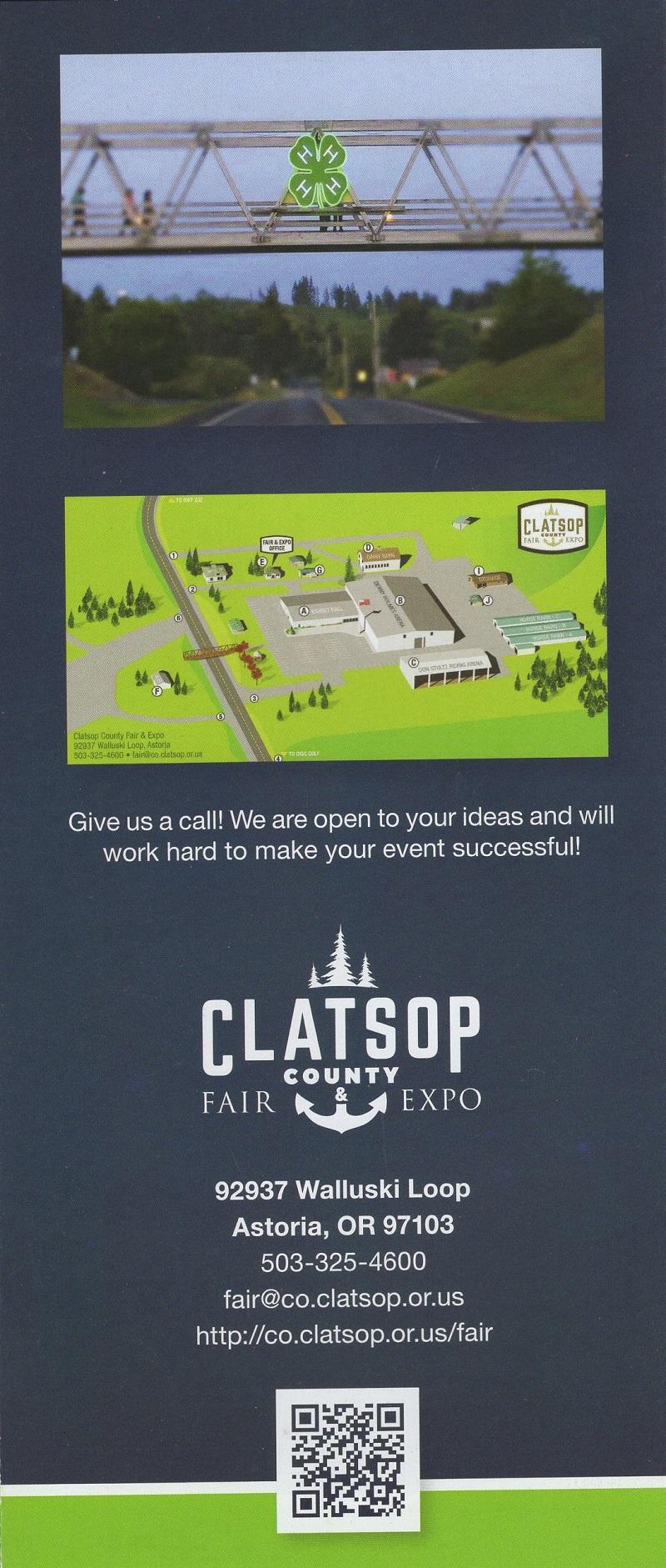 Clatsop County Fair & Expo brochure thumbnail
